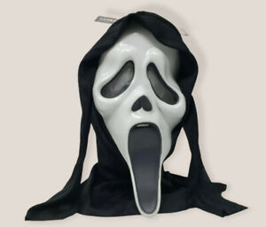 Scream Movie Ghostface Scary Halloween Mask Fun World Cosplay Ghost Face NEW