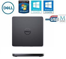 Dell Ultra Slim External USB DVD Drive +/-RW Plug nPlay Latest UltraSlim Design