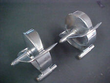 Vintage Rear View Side Mirrors Ford Chevy Olds Pontiac Pair Hot Rat Rod 1950s