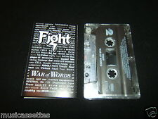 FIGHT WAR OF WORDS USA CASSETTE TAPE