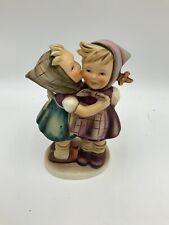 "Rare Hummel Goebel Figurine: ""Telling Her Secret""! 196/0"