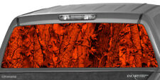 Camo Forrest Inferno Rear Window Hunting Graphics Suv Truck Trees Ute Decal