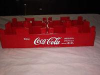 VINTAGE SODA 1993 ENJOY COCA COLA  COKE 2 LITRE BOTTLE PLASTIC CASE