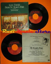 LP 45 7'' DAVID FOSTER Love theme from st. elmo's fire 1985 italy cd mc dvd (*)