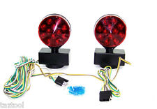 LED MagneticTow Light 12 volt towing Trailer lights Brake Tail Signal 12V Kit