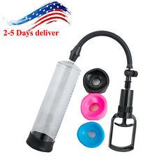 "USA-Bigger-Penis-Growth-Power-Vacuum-Enhancement-Enlarger-Penis-Pump 8"" POWER"