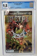 DARK NIGHTS: METAL #6 CGC 9.8 GRADED 2018 WHITE PAGES DC EMBOSSED FOIL COVER