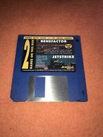 Amiga Power Magazine cover disk 36 Benefactor Jet strike