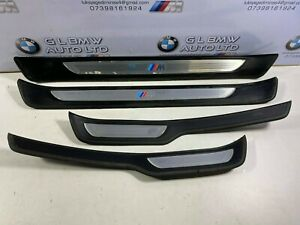 BMW 3 SERIES E90 E91 M SPORT DOOR SILLS TRIMS SET OEM 7907152