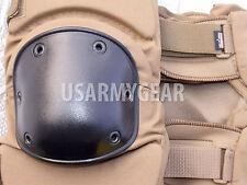 USMC Marine New Coyote Brown Heavy Duty Knee Pad Work Paintball Airsoft L USGI