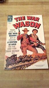 The War Wagon comic book - John Wayne. High grade. 1967.