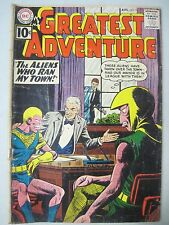 MY GREATEST ADVENTURES #58 AUGUST 1961 DC COMICS ALEX TOTH BILL ELY