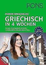 PONS Power-Sprachkurs Griechisch in 4 Wochen (2016, Taschenbuch)