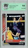 Lamelo Ball 2020 Panini Instant #89 Only 1412 Made Rookie Card PGI 10