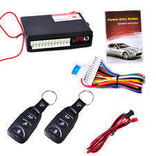 Keyless Entry System Universal Car Remote Control Central Door Lock Controller