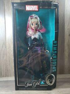 "Marvel Fan Girl Spider Gwen Madame Alexander Collection 13.5"" Figure DAMAGE BOX"