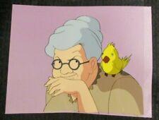 "THE REAL GHOSTBUSTERS Cartoon 10.5x9"" Animation Prod. Cel Granny & Bird A12-42"