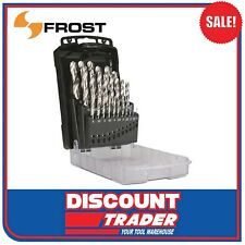 Frost 25 Piece HSS Drill Bit Set Metric (by Sutton Tools) - 92260