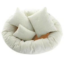 Baby Newborn Photography Basket Filler Wheat Donut Posing Props Baby Pillow BT