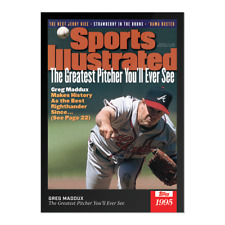 Greg Maddux Best Pitcher You'll See Sports Illustrated 1995 Topps X Card #8 2021