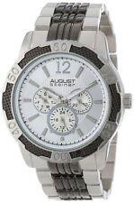 New Men's August Steiner AS8058SS Sport Quartz Multifunction Bracelet Watch $445