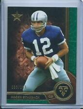 2015 Roger Staubach Topps Triple Threads EMERALD GREEN /199 Dallas