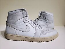 a54034000dcc Nike Air Jordan 1 Retro High Premium Pure Platinum Sand Aa3993 030 Size 11