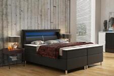 Boxspringbett Box Hotel Bett mit Visco & Matratze Lederbett Betten Doppelbett
