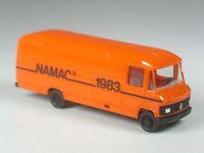 TOP: Herpa Holland Sondermodell Mercedes 508 D Kasten lang NAMAC 1983 orange