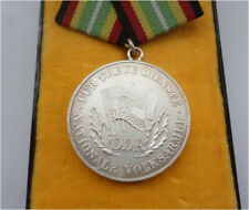 DDR NVA Stasi Orden Medaille Treue Dienste silber-fa. East german army medal RDA