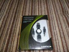 Comptec.Retractable USB Cable.New