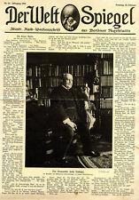 Der Dramatiker Felix Philippi in seinem Arbeitszimmer c.1914