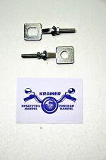 Zündapp C 50 GTS 50 CX Hai 50 KS 50 80 448 Mofa Moped Kettenspanner Satz Ov.+Ru.
