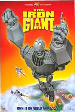 The Iron Giant Movie Poster Original 27x40 Rare Video 1sheet 1999 Animation Film