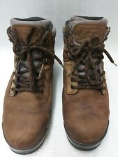 Men's Coleman Leather Boots UK 10.5 Brown
