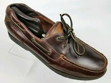 SPERRY TOP-SIDER Stingray Collection Men's Boat Shoes Brown Leather Sz 11.5