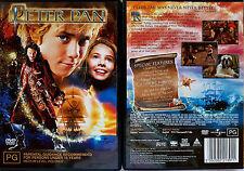 PETER PAN DVD R4 PAL oz seller