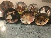 "1986 1987 Knowles Plates ""The Sound Of Music"" Set Of 7 Collector Plates"