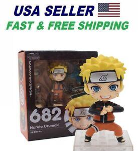 Naruto Shippuden Nendoroid 682 Naruto Uzumaki Nine Tail Fox Figure