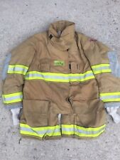 Firefighter Globe Turnout Bunker Coat 47x35 G Xtreme No Cut Out 2008