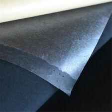 Self-adhesive Velvet Flock Liner Jewelry Contact Paper Craft Fabric Black 1m