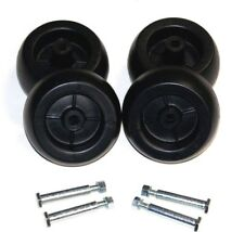 CRAFTSMAN RIDING LAWN MOWER DECK WHEELS & BOLTS 4 PACK 133957, 193406, 092683MA