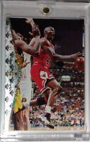 Rare: 1994-95 Upper Deck SP Michael Jordan Silver Parallel Insert He's Back #MJ1