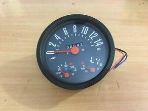 New Willys Jeep Speedometer Cum Temperature, Fuel, Amp. & Oil Indicator