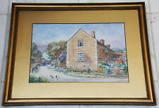 Superb original French school painting by B Lomax