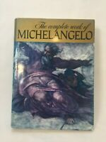 The complete work of Michelangelo Hardcover Coffee Table Book, 12 Lbs