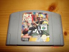 Cartucho Videojuego NFL QUATERBACK CLUB 98 para Nintendo 64 N64 PAL
