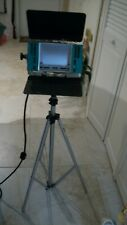 """Photo Lights And tripod, Bogen Professional Alum. 3 sections 96"""" Tall"""