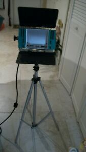 """Photo Lights AND Stand, Bogen Professional Alum. 3 sections 96"""" Tall"""