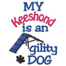 My Keeshond is An Agility Dog Short-Sleeved Tee - Dc1856L